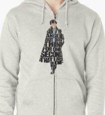 Sherlock Zipped Hoodie