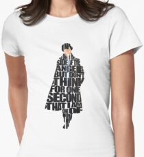 Sherlock Women's Fitted T-Shirt
