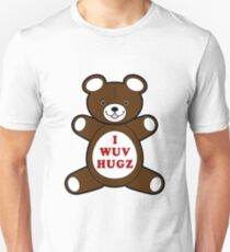 Supernatural I WUV HUGS - Cosplay Unisex T-Shirt