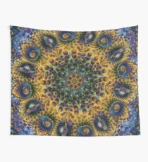 Fractal Sunflower 160620-02 Wall Tapestry