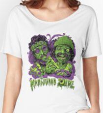 MARIJUANA ZOMBIE Women's Relaxed Fit T-Shirt
