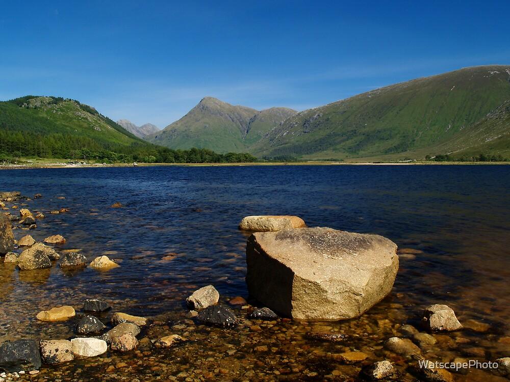 Loch Etive at Gualachulain 2 by WatscapePhoto