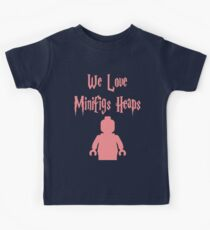 'We Love Minifigs Heaps'  Kids Tee