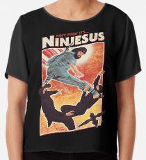 Der Jesus Ninja Chiffontop
