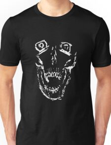 Inverse Screaming Skull Unisex T-Shirt