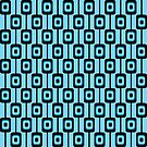 Retro background pattern by Heather Hood