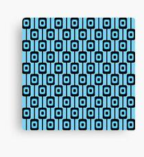 Retro background pattern Canvas Print