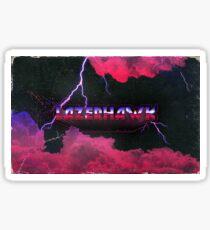 Lazerhawk Sticker