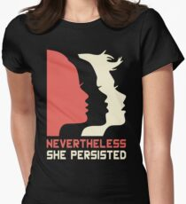 Official Nevertheless She Persisted Tee Women's Fitted T-Shirt
