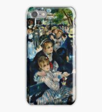 Auguste Renoir - Dance At Le Moulin De La Galette (1876) iPhone Case/Skin