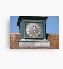 osterley park clock tower Canvas Print