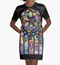 Undertale Universe Graphic T-Shirt Dress