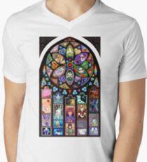 Undertale Universe Mens V-Neck T-Shirt