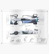 F1 Patent Poster