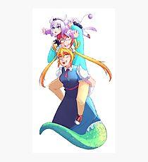 Super Dragon Maid Photographic Print