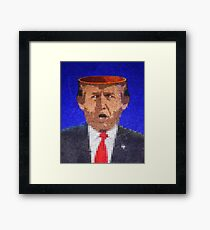 45*. Where does his genius come from? Framed Print