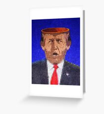 45*. Where does his genius come from? Greeting Card
