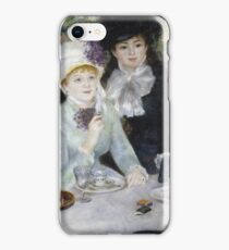 Auguste Renoir - After The Luncheon iPhone Case/Skin