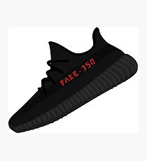 YEEZY BOOST 350 V2 Core Fake Photographic Print