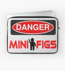 Danger Minifigs Sign Laptop Sleeve