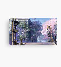 5 Centimeters Per Second Scenery Canvas Print
