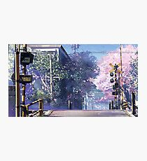 5 Centimeters Per Second Scenery Photographic Print