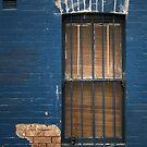 Blue window by Rosalie Dale