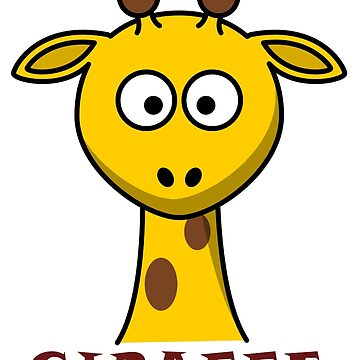 Giraffe by camisetaencasa
