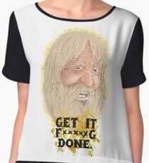 Get it done Women's Chiffon Top