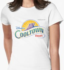 Disner's Cooltown Vacay! Place Things! Women's Fitted T-Shirt