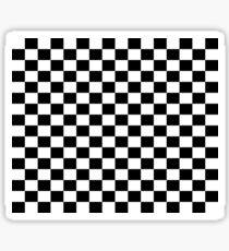 Chequered Flag Leggings - Checkered Racing Car Winner Jeggings Sticker