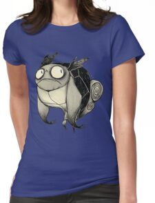 Drunk Wartortle Womens Fitted T-Shirt