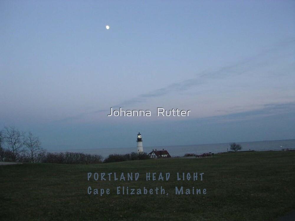 Portland Headlight by Johanna  Rutter