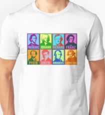 Pop Art Composers T-Shirt