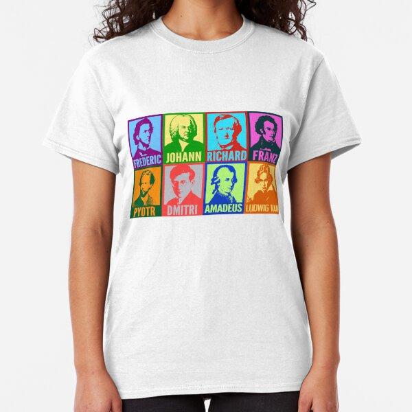 Pop Art Composers Classic T-Shirt
