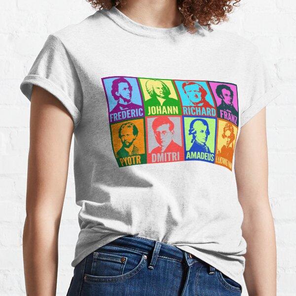 Pop-Art-Komponisten Classic T-Shirt