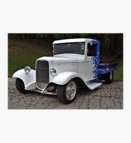 1934 Ford Hot Rod Pickup Truck  Photographic Print