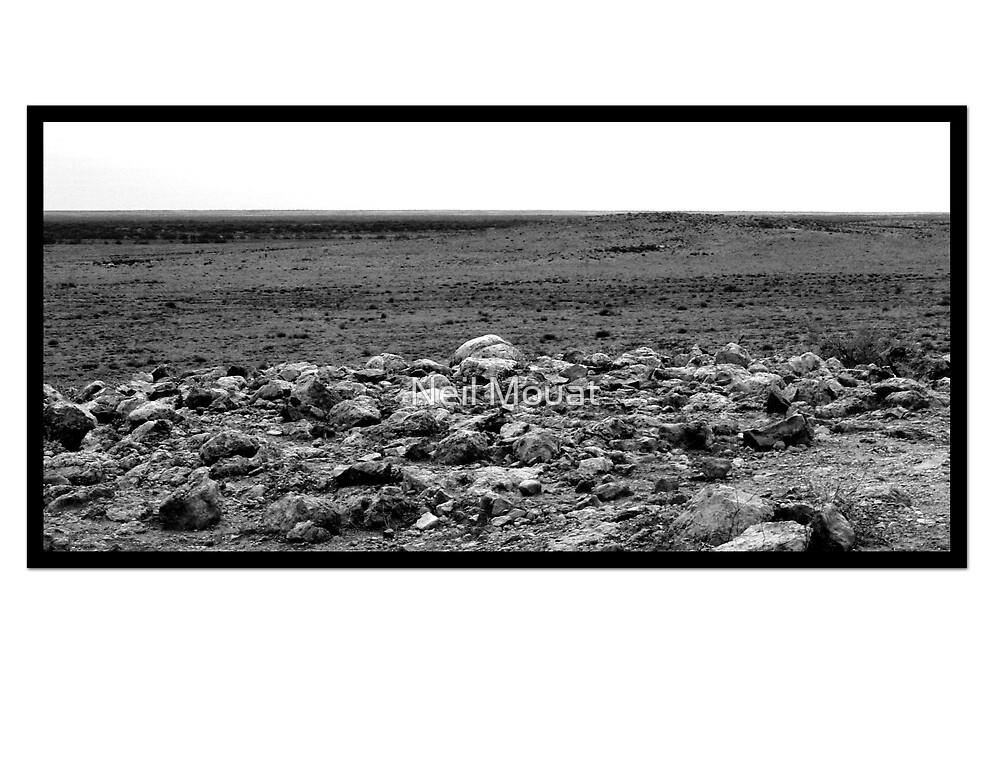 AUSTRALIAN DESERT SCENERY by Neil Mouat