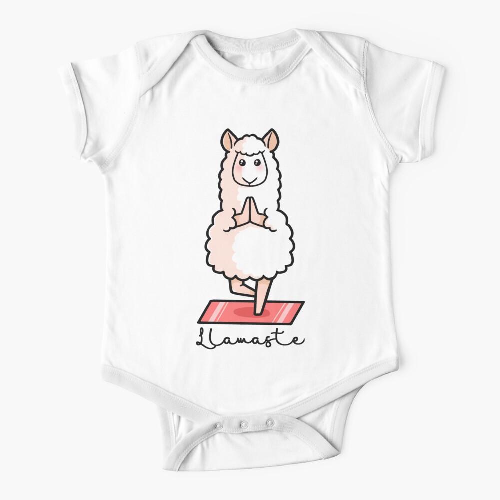 Llamaste - Yoga Llama Baby One-Piece