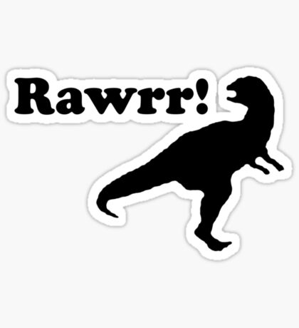 rawrr Sticker