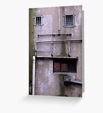 Pipe Face Greeting Card