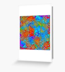 Hiding in colors Greeting Card