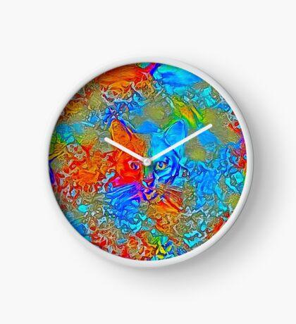 Hiding in colors Clock