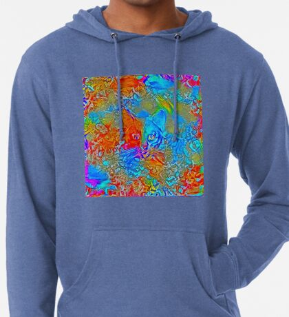 Hiding in colors Lightweight Hoodie