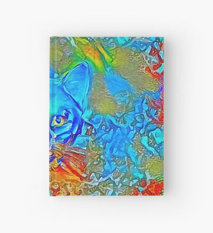 Hiding in colors Hardcover Journal