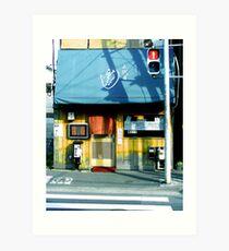 Tokugawa Cafe Art Print