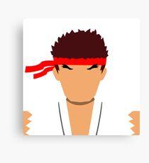 Ryu Vector Canvas Print