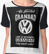 VW Air cooled Grandad Chiffon Top