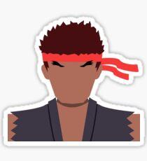 Evil Ryu Vector Sticker