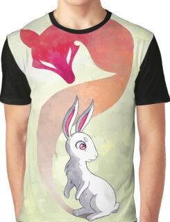 Rabbit and a Fox Graphic T-Shirt